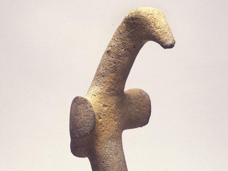 Bird-shaped pestle, Western Province, Papua New Guinea