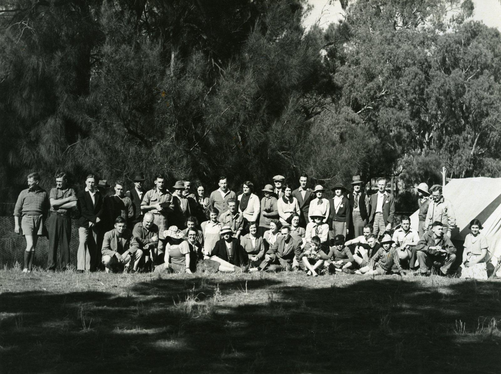 Gould League camp 1937