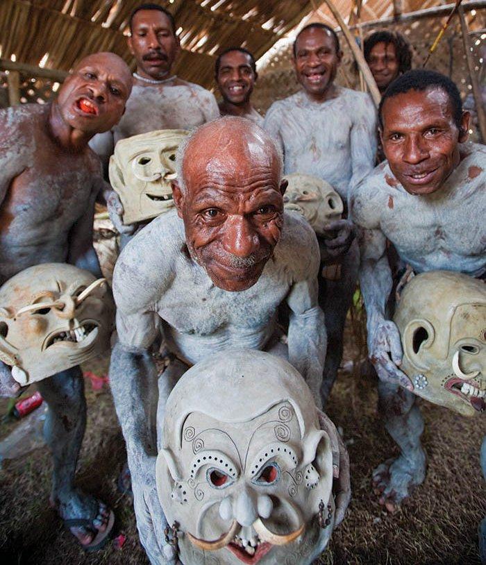Asaro Mud Men of Papua New Guinea