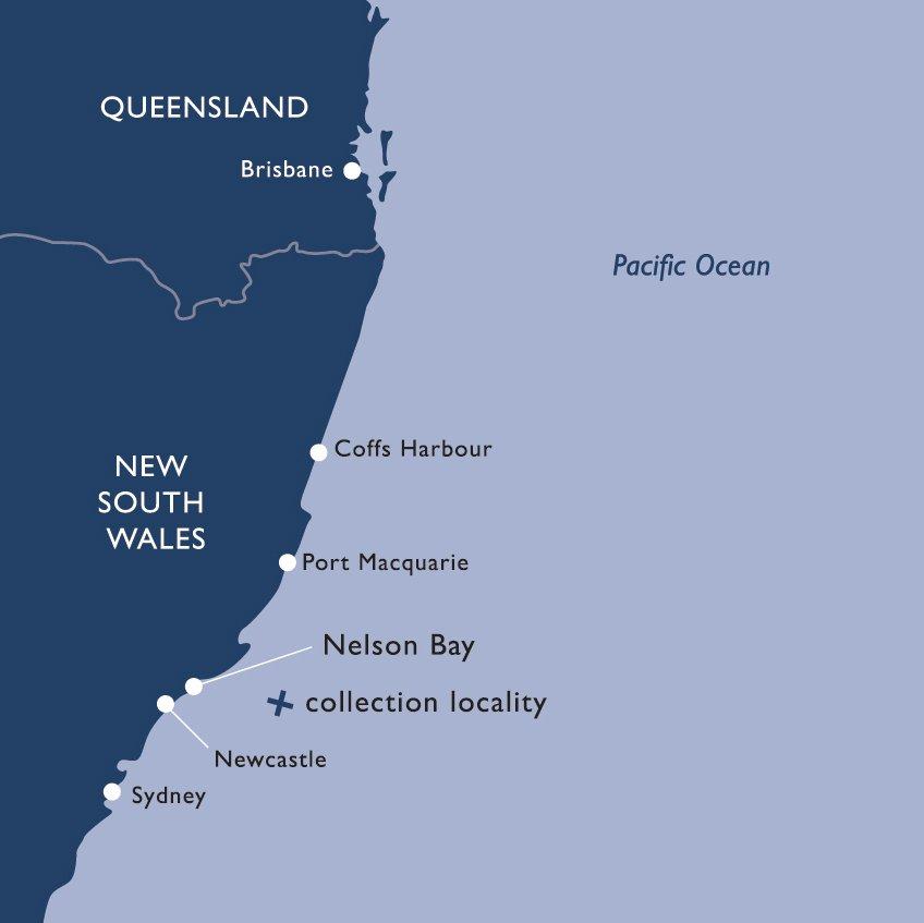 Australia Coast Map