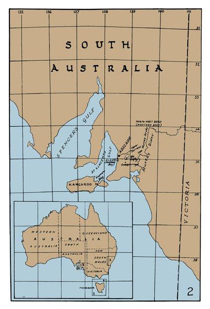 Gould Map - Australia