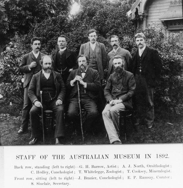 Executive staff 1892