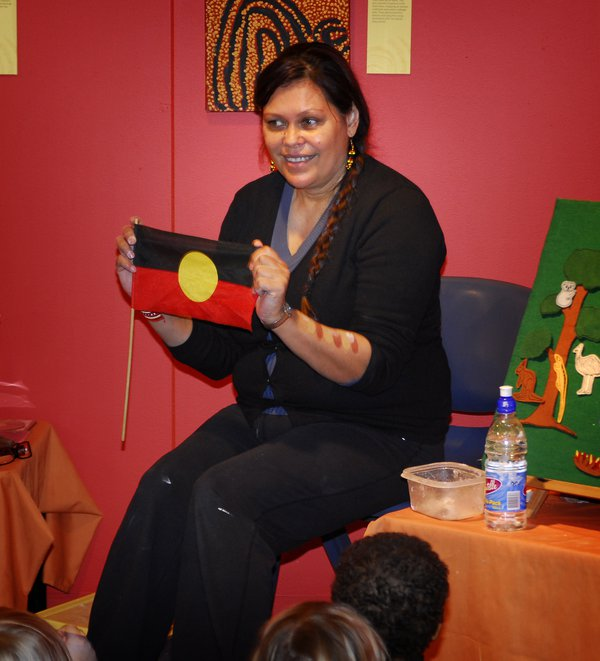 Indigenous performer