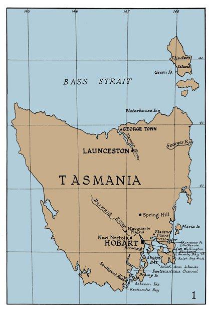 Gould Map - TAS