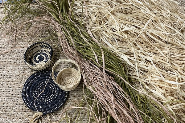 Ngumpie Weaving woven baskets