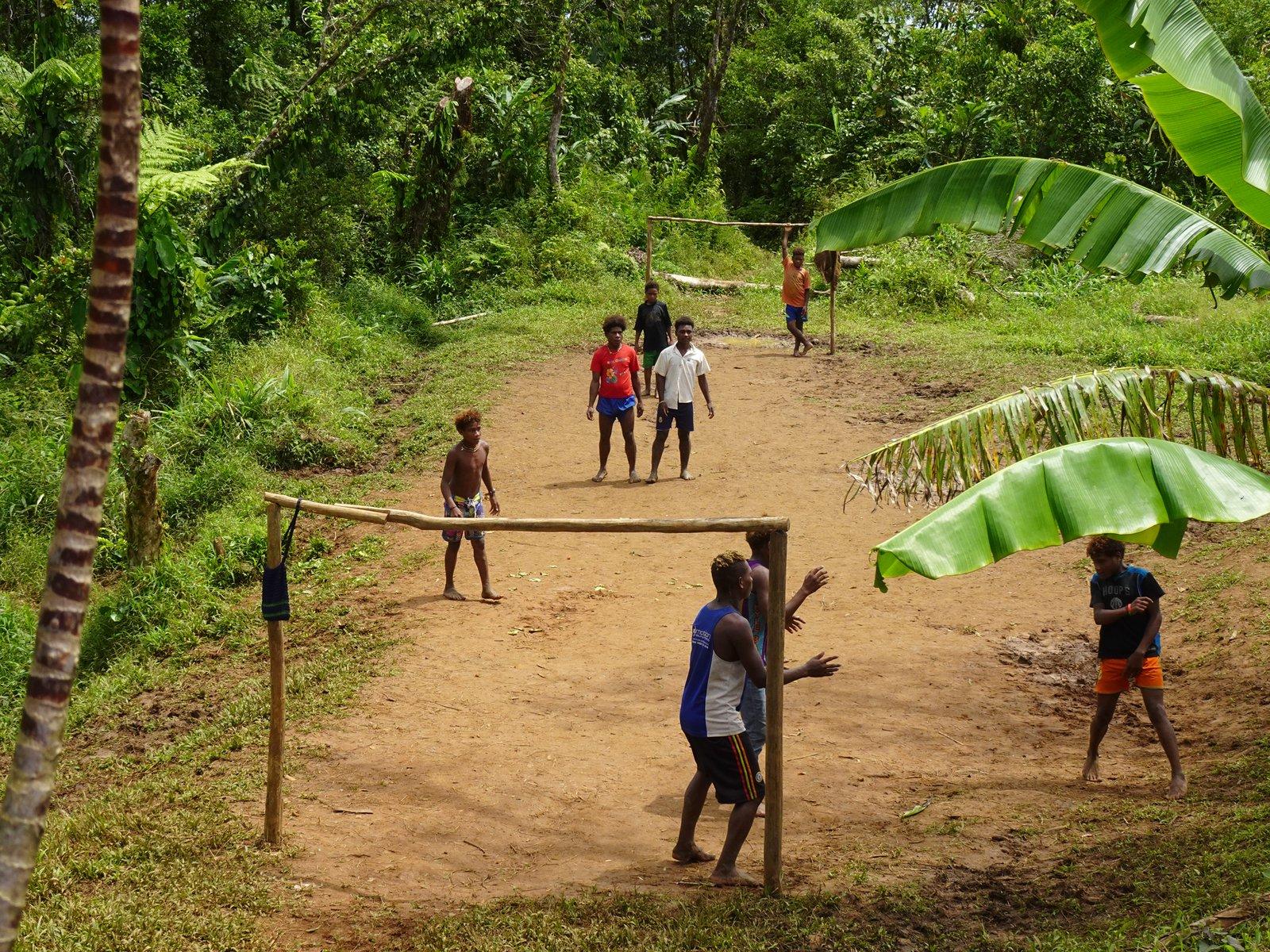 The Kwaio playing sport, Malaita, Solomon Islands