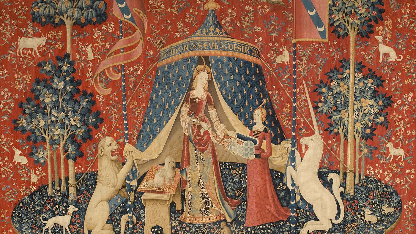 The Lady and the Unicorn: À mon seul désir (Musée national du Moyen Âge, Paris)