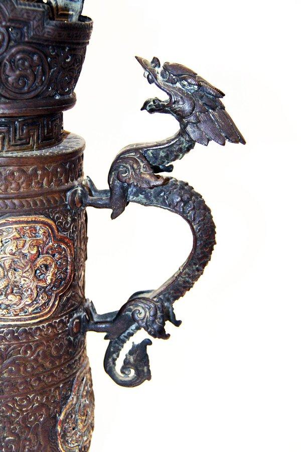 Tibetan Teapot detail