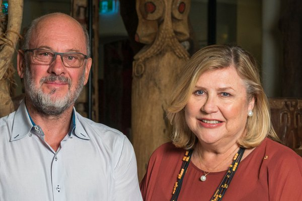 Tim Flannery and Kim McKay