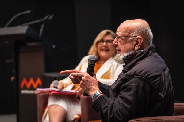 Tom Keneally Lunchtime Conversation