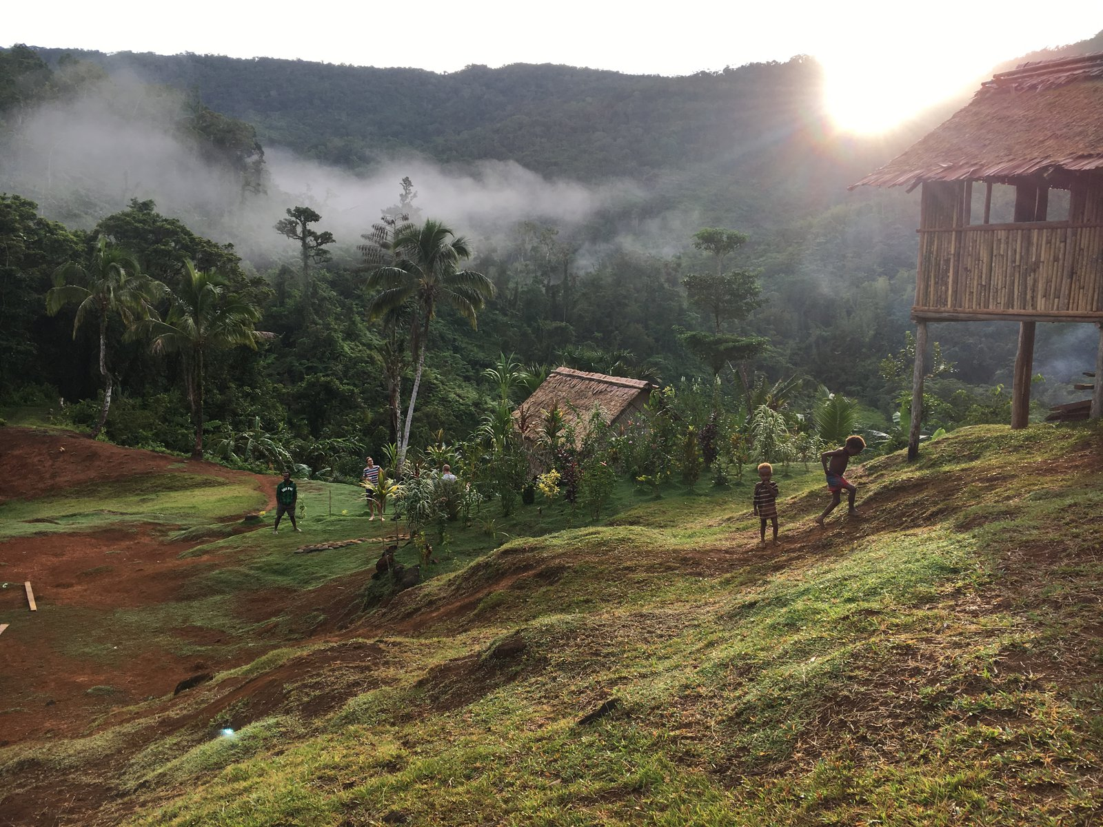 Traditional Dwellings, Malaita, Solomon Islands