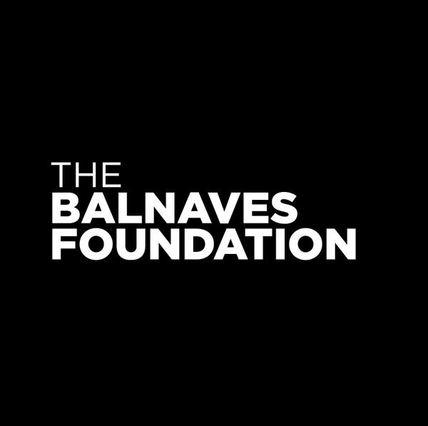 The Balnaves Foundation logo - black circle