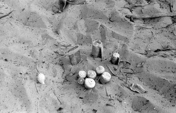 Shell dolls at Groote Eylandt 1948