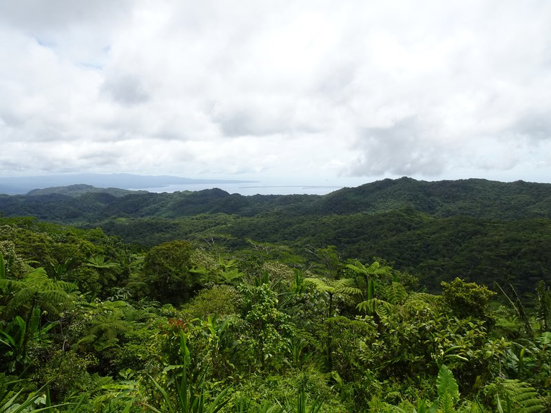 View from the highlands of Malaita, Solomon Islands