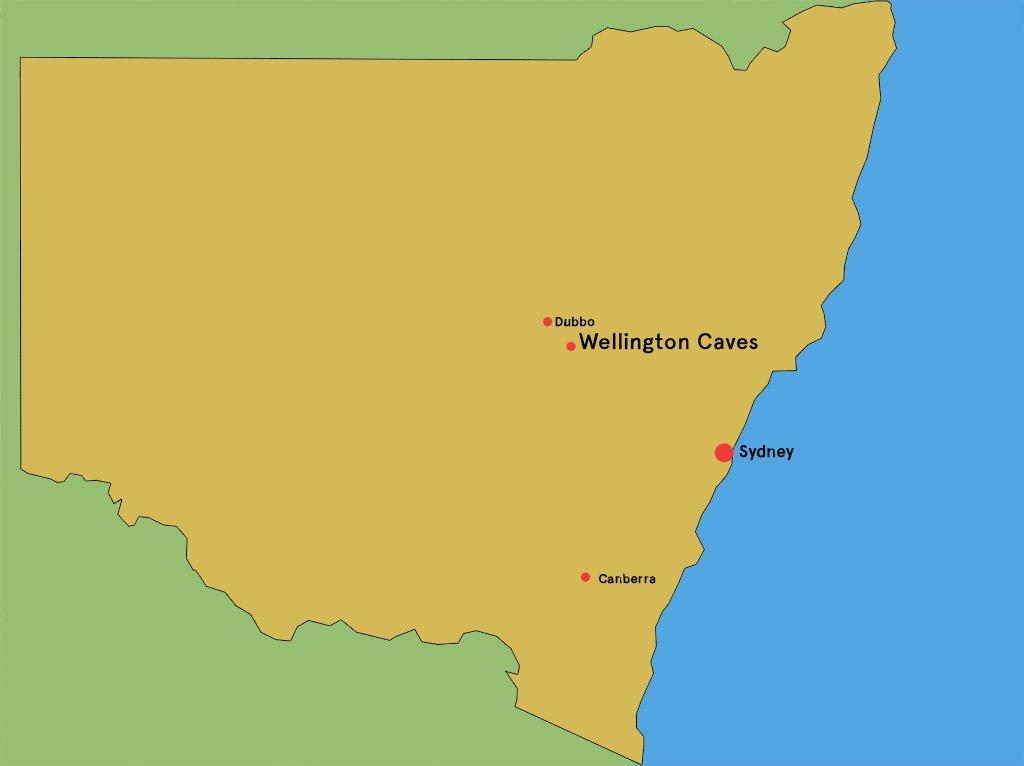Wellington Caver map