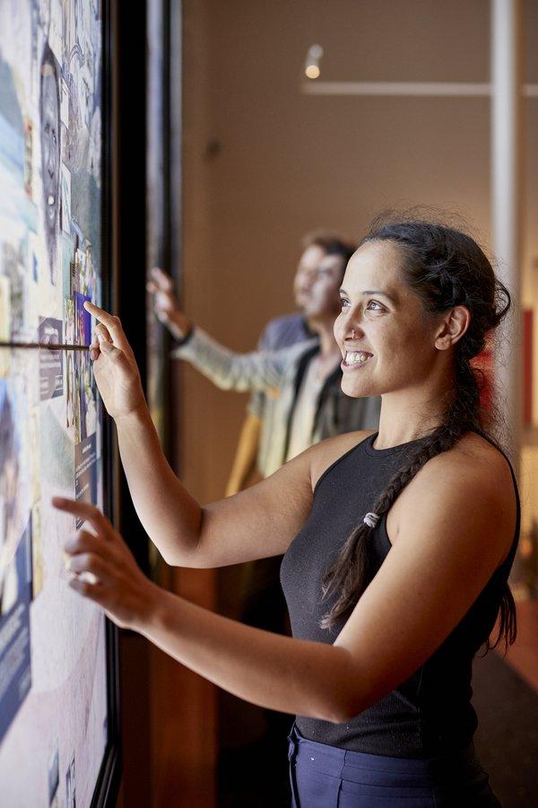 Westpac Long Gallery Stock Shots