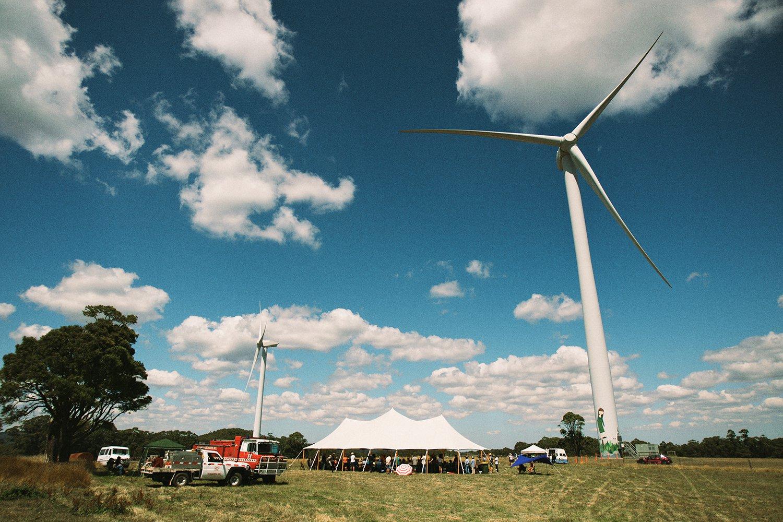 Hepburn Community wind turbines
