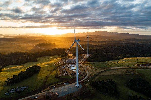 Granville Harbour Wind Farm, Tasmania
