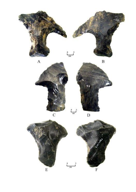 Ancient Obsidian Tools