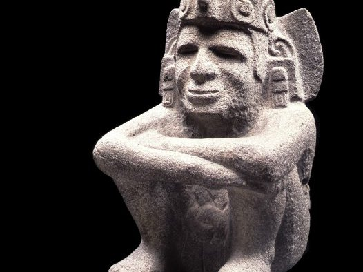 Sculpture of Xiuhtecuhtli (God of Fire and Guardian of Merchants).