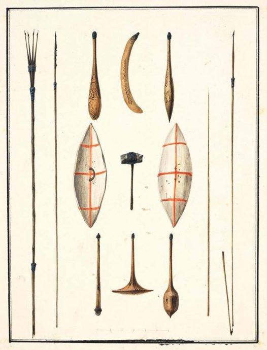 Indigenous Weapons - Sydney Region (1802-04)