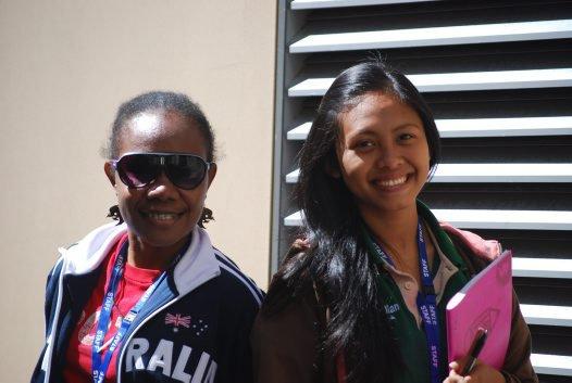 Novita Wenda and Putu Ayu Yunita Yastini