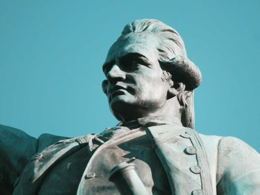 Captain Cook - Statue: Hyde Park