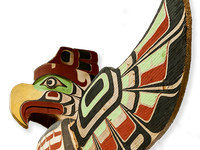 Totem pole from Canada