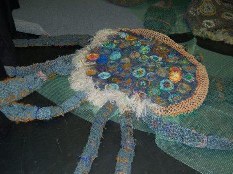 ghost net mud crab