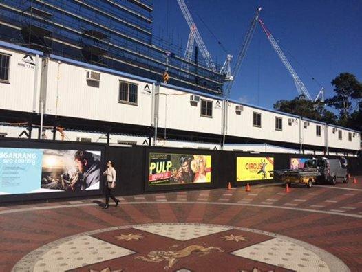 Darling Harbour hoarding