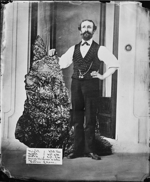 Bernhardt Otto Holtermann and the 'Holtermann Nugget' in 1872