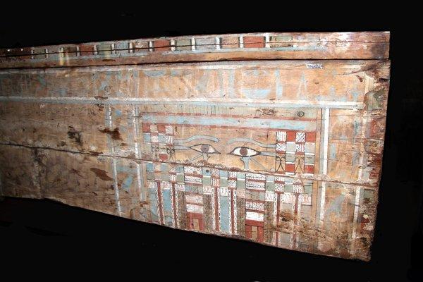 Coffin of Egyptian official Neter-nekhta