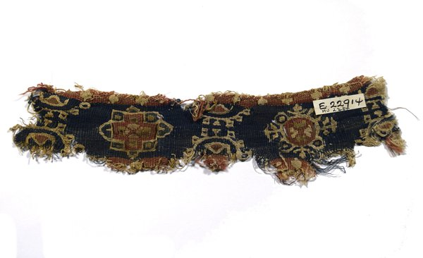 Fragment of tapestry band from Antinoe