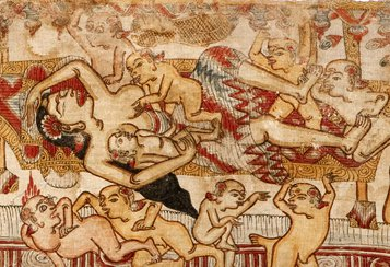Pan and Men Brayut story (detail)