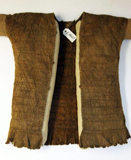 Jacket made of tree bark. Kenyah people, Borneo.