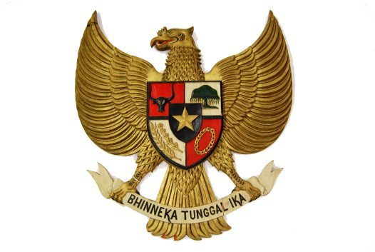Indonesian Emblem: E74743