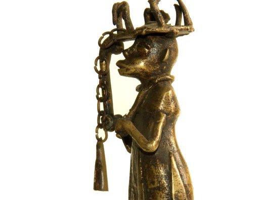 African Bronze Figure - Dahomey: E76566 BB