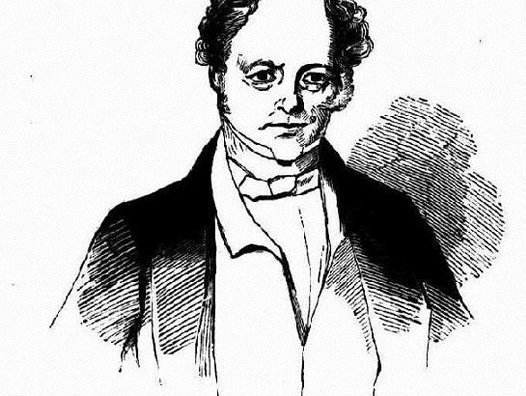 Cartoon of Edward Deas Thomson