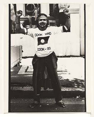 Michael Watson in Redfern on the Long March of Freedom, Justice and Hope, Invasion Day, 26 January 1988