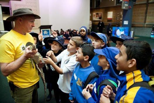 Australian Museum Science Festival Presenter Australian Wildlife Displays