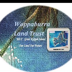 Woppaburra Land Trust logo