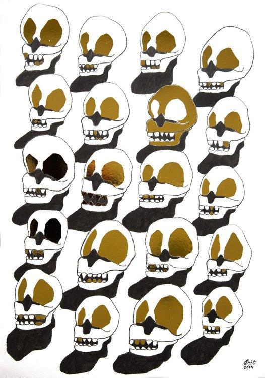 Art of the Skull Pop-Up Gallery Evi Oetomo #1