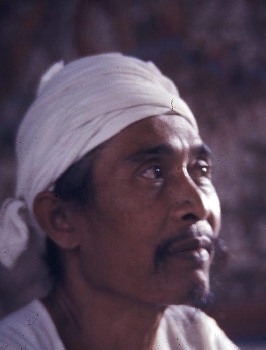 Artist Mangku Mura, 1977
