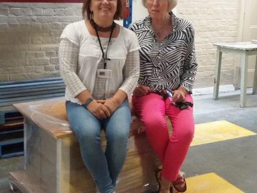 Dr Elena Kupriyanova and Dr Pat Hutchings