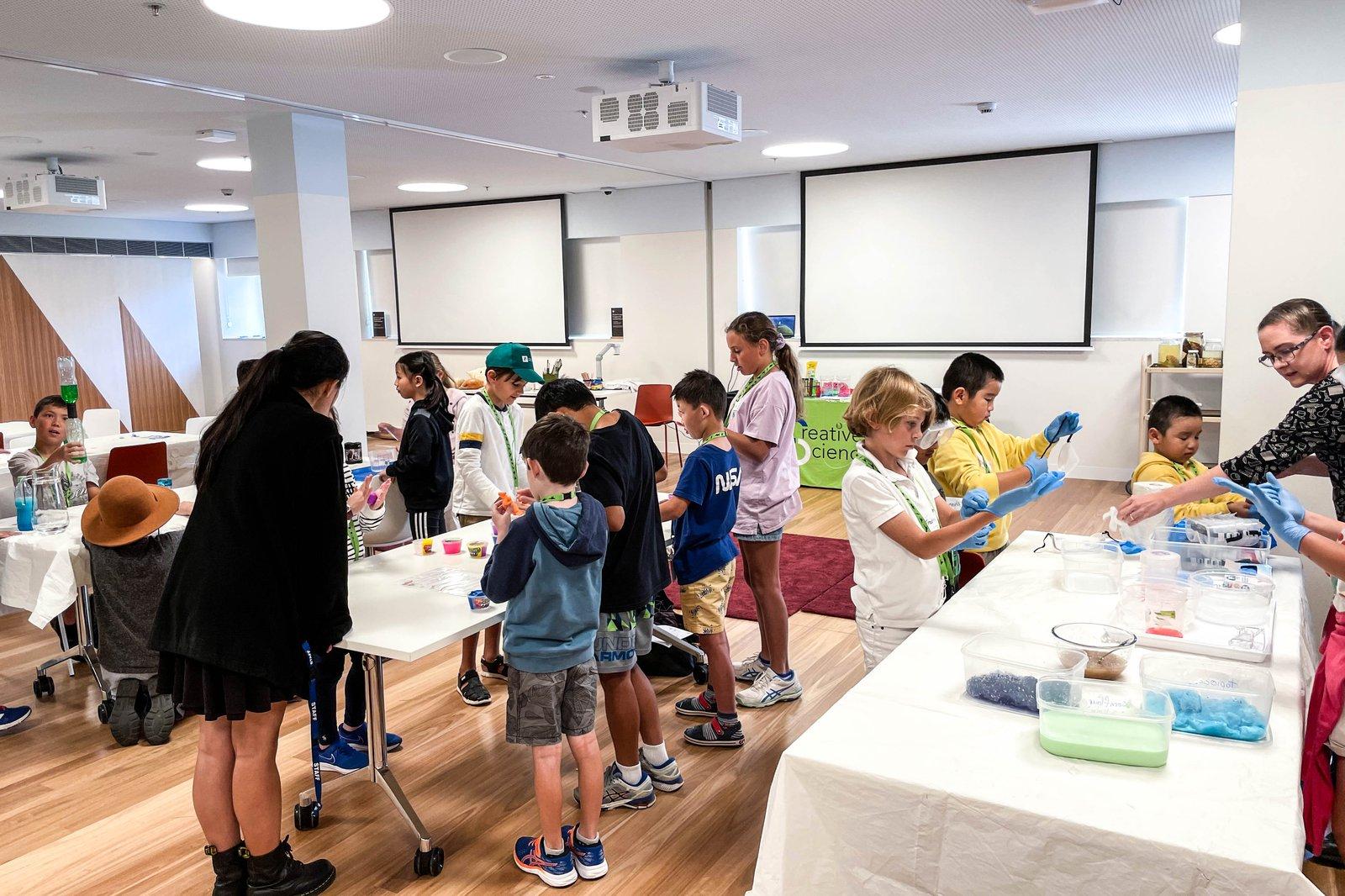 Hands-on slime workshop