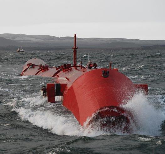 A wave energy converter