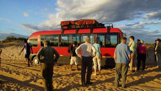 Madagascar 2012 - Stuck bus