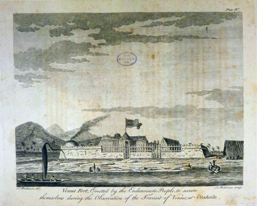 Venus Fort by Sydney Parkinson, 1773.