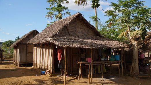 Madagascar 2012 - Village house