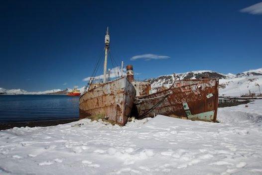 Scotia arc expedition ship wreck